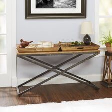 Derrick Industrial Console Table by Williston Forge