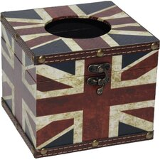 Union Jack Tissue Box Cover