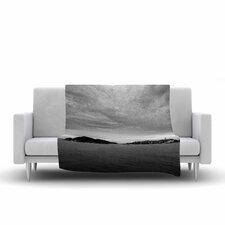 Nick Nareshni Deep Cloudy Ocean Photography Fleece Throw