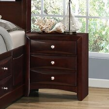 Oreland 3 Drawer Nightstand by Red Barrel Studio
