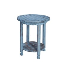 Bernardsville Heights Round End Table by August Grove