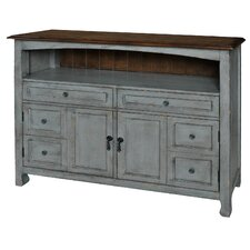 Juliane Accent Cabinet with Wood Top by August Grove