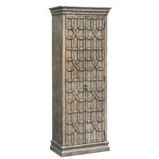 Anka Overlaid Fretwork 2 Door Accent Cabinet by World Menagerie