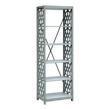 Shorehaven Textured Stone 72 Etagere by Rosecliff Heights