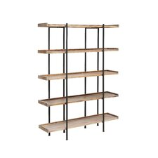 "Ramapo Wood and Metal 4 Shelf 72"" Etagere"