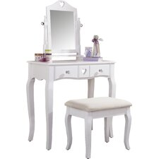 Veras Dressing Table Set with Mirror