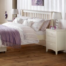 Bishop 3 Drawer Bedside Table