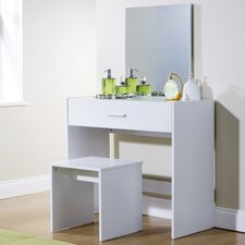 Uli Dressing Table Set with Mirror