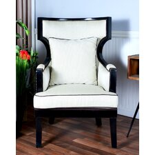 Averi Indoor/Outdoor Rattan Empire Chair with Cushion