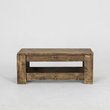 Lamoreaux Rustic Knotty Coffee Table by Loon Peak