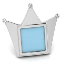 Sterling Silver Crown Picture Frame