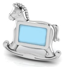 Sterling Silver Horse Picture Frame