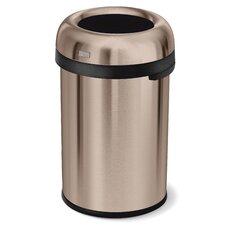 Bullet Open Heavy Gauge Steel 30.38 Gallon Trash Can