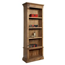 Executive Left Pier 80 Standard Bookcase by Hekman