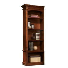 Executive Left Pier 79 Standard Bookcase by Hekman