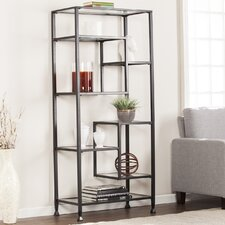 Kailani 68 Etagere Bookcase by Wade Logan