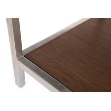 Betances Steel Framed Bamboo Coffee Table by Latitude Run