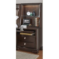 Akins 2 Drawers Nightstand by Three Posts