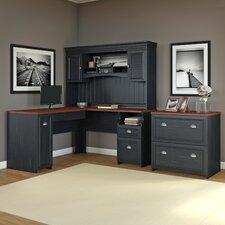 Oakridge 3 Piece L-Shaped Desk Office Suite