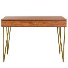 Sandara Pine 2 Drawer Writing Desk