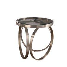 Amira Stainless Steel End Table by Orren Ellis