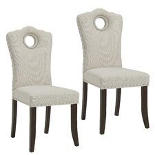 Bentonville Fabric Upholstered Dining Chair (Set of 2)