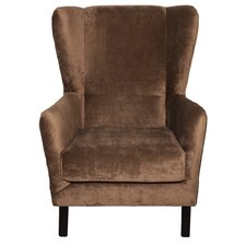 Atrakchi Wingback Chair by Darby Home Co
