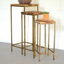 Lexington 3 Piece Nesting Table by Union Rustic