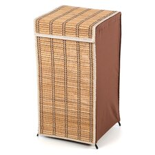 Tall Wicker Laundry Hamper