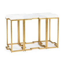 Eremo Trio Console Table (Set of 3) by Everly Quinn
