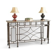 Cobbett Mirrored Console Table by Bloomsbury Market