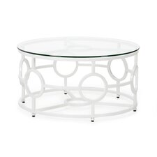 Rockland Circular Coffee Table by Rosecliff Heights