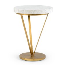 Covertt Trifold End Table by Everly Quinn