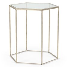 Grayson Hexagon End Table by Everly Quinn