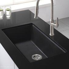 """31"""" x 17.09"""" Granite Undermount Kitchen Sink"""