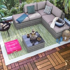 Zephyr Green/Yellow Indoor/Outdoor Area Rug