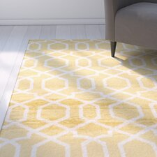 Ryann Yellow Indoor Area Rug
