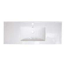 Flair Ceramic 49 Single Bathroom Vanity Top by Jade Bath