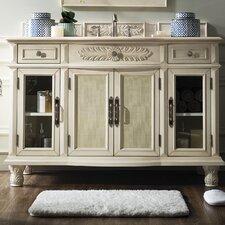 Harrietstown 53 Single Vintage Vanilla Bathroom Vanity Set by Ophelia & Co.