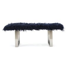 Holiday Faux Furry Ottoman by Mercer41™