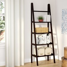 """Channing 72"""" Leaning Bookcase"""