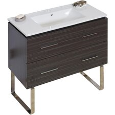 Maryalice Floor Mount 35.5 Single Bathroom Vanity Set by Orren Ellis
