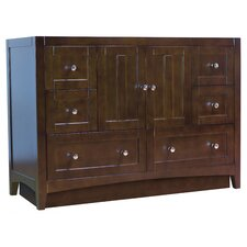 Shaker 47.5 Modern Plywood-Veneer Bathroom Vanity Base Set by Jade Bath