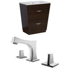 Kao Floor Mount 23.75 Single Bathroom Vanity Set by Brayden Studio