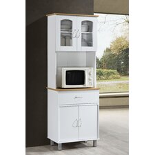 Reynolds Kitchen Island China Cabinet