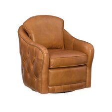 Hilton Swivel Club Chair by Hooker Furniture