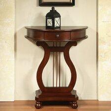 Warwick Half Moon Harp Console Table by Charlton Home