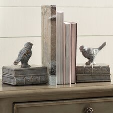 Songbird Bookends (Set of 2)