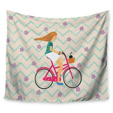 Cristina Bianco Bicycle Ride Wall Tapestry