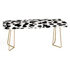 Amy Sia Faux Leather Bench by East Urban Home